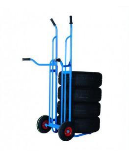 Diable à pneus - charge 200 kg