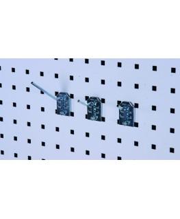 Crochet simple coudé 50 mm