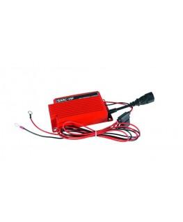 Chargeur 12V 6Ah métal Rouge