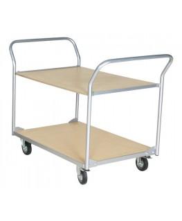 Chariot plateforme 2 étages de charge 500 kg